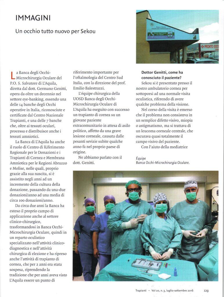rivista Trapianti pag. 1 001
